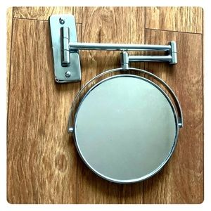 Bath - Double Sided Mirror with Extendable Arm